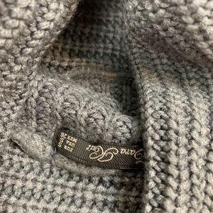 Zara Sweaters - Zara Waffle Knit Long Sleeve Cowlneck Gray Sweater